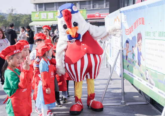 """""""守护小树苗,我们在行动""""2020年少年儿童食品安全教育活动走进江西九江八里湖"""